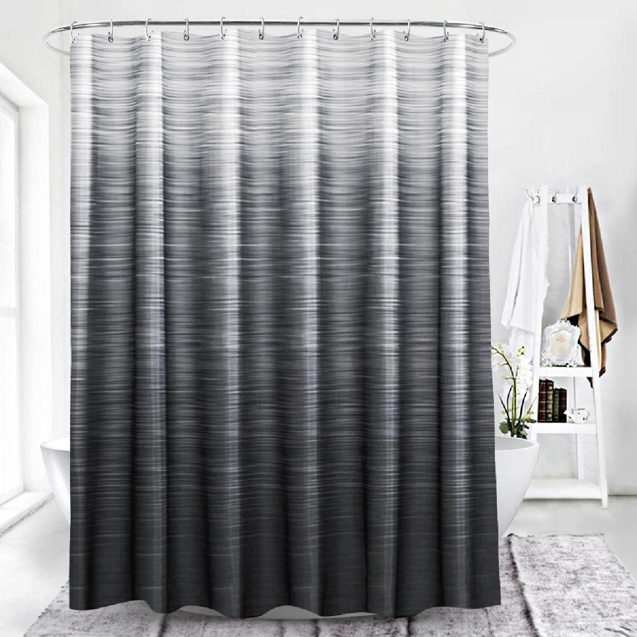 Orren Ellis Ombre Shower Curtain For
