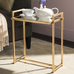 Trestle Base Mirrored End Tables You Ll Love In 2021 Wayfair