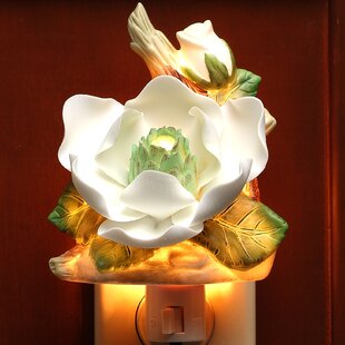 Great Price Magnolia Night Light By Cosmos Gifts