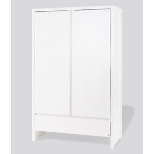 Aura 2 Door Wardrobe By Pinolino