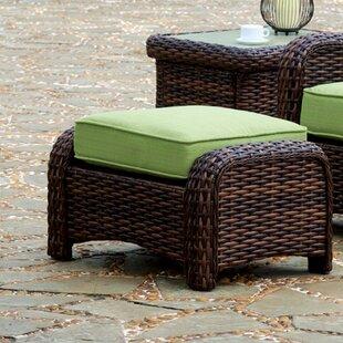Bay Isle Home Chorio Ottoman with Cushion