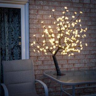 Outdoor tree lights wayfair blossom tree string lights aloadofball Gallery