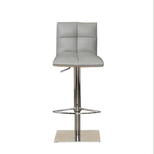 RMG Fine Imports Quilt Adjustable Height Swivel Bar Stool