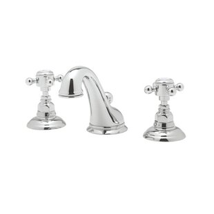 Rohl Rohl A1408LP-2 Country Bath Low Lead Widespread Bathroom Faucet with Pop-Up Drain and Porcelain Cross Handles