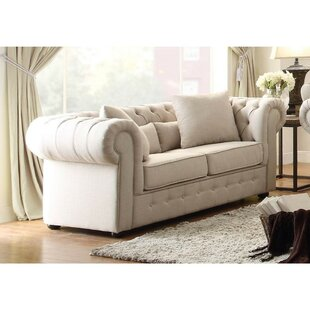 Cordova Button Tufted Loveseat