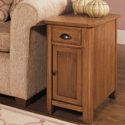 1014 End Table with Storage Wildon Home