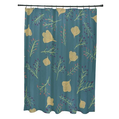 Alcott Hill Orchard Lane Polyester Spring Blooms Floral Single Shower Curtain