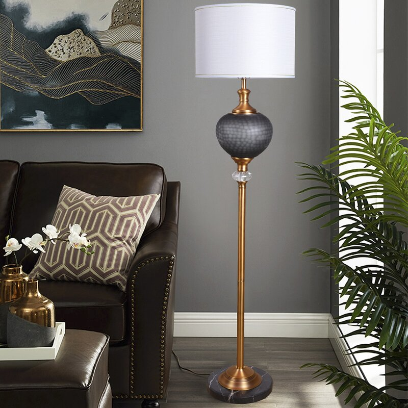 Ebern Designs Brink 65 Floor Lamp Wayfair