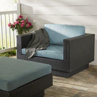 Brayden Studio Chretien Patio Chair with Cushion