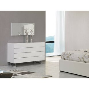 Orren Ellis Febus 4 Drawer Bedroom Dresser