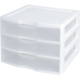 Compare & Buy ClearView 3-Drawer Storage Chest (Set of 3) By Sterilite