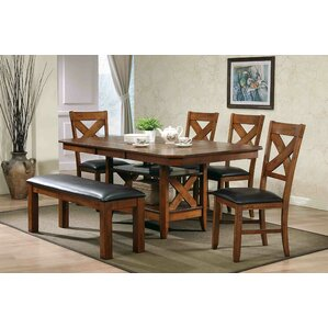 Lodge 7 Piece Dining Set by Ultimate Accents