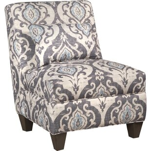 Bungalow Rose Mowbray Slate Large Slipper Chair