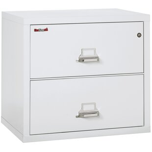 Fireproof 2 Drawer Lateral Filing Cabinet by FireKing Great price