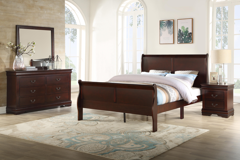 Gerena Queen Sleigh 4 Piece Bedroom Set