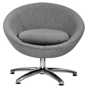 Fox Hill Trading Overman Five Prong Base Astro Barrel Chair