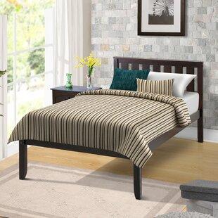 Online Reviews Rand Twin Platform Bed ByHarriet Bee