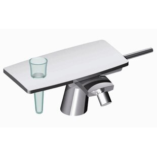 Fima by Nameeks De Soto Single Handle Horizontal Spray Centerset Faucet
