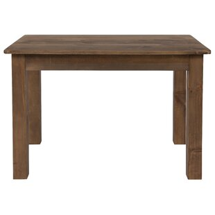 Lilac Solid Wood Dining Table Gracie Oaks