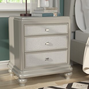Guillaume 3 Drawer Nightstand