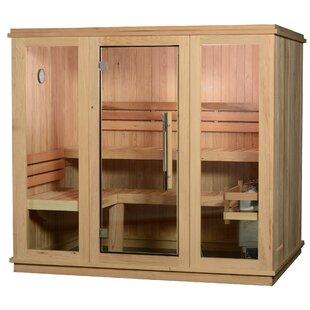 Bridgeport Cedar 6 Person Steam Sauna By Almost Heaven Saunas LLC