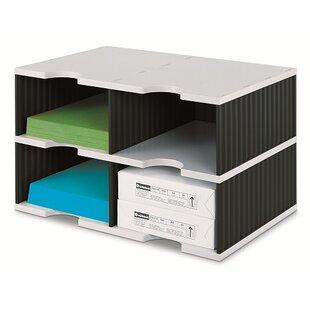 22.3cm H X 48.5cm W Desk Top Unit By Symple Stuff