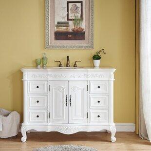 Online Reviews Haslett 48 Single Bathroom Vanity Set ByAstoria Grand