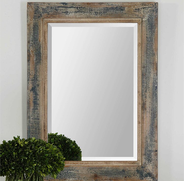 Wall mirrors Round Janie Rectangular Wall Mirror Birch Lane Janie Rectangular Wall Mirror Reviews Birch Lane