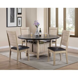 Spicer 5 Piece Extendable Dining Set Loon Peak
