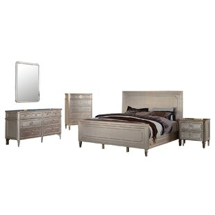 Brette Platform 5 Piece Bedroom Set