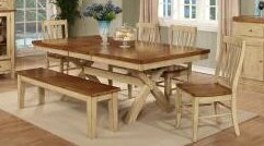 Chelsea Home Toby Extendable Dining Table