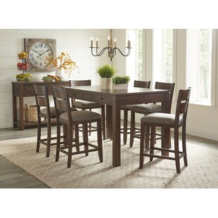 Barber 5 Piece Counter Height Dining Set Charlton Home