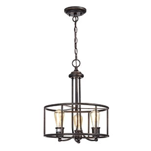 Williston Forge Lilac 3-Light Lantern Chandelier