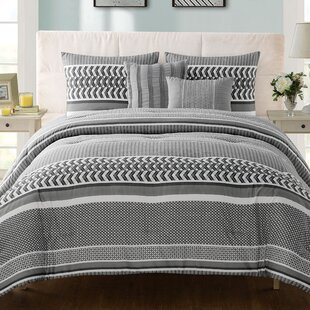 Latitude Run Luke 5 Piece Comforter Set