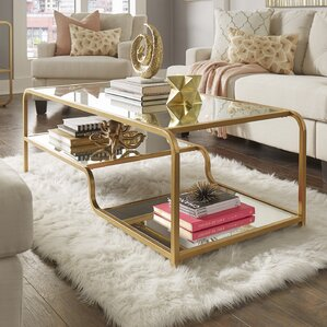 Dacia Mirror Coffee Table by Willa Arlo Interiors