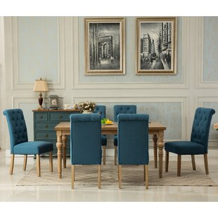 Atticus Solid Wood 7 Piece Dining Set