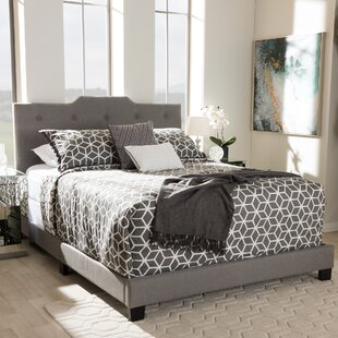 Review Meriweather Upholstered Platform Bed