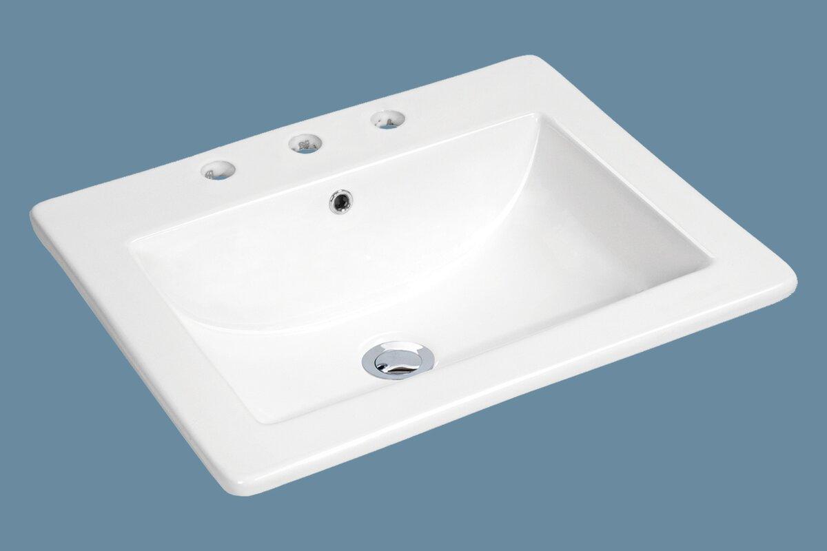 Bathroom Sinks Top Mount Stylish Design Top Mount Bathroom Sink Blokko Top  Mount Sink