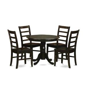 East West Furniture 5 Piece Dining Set