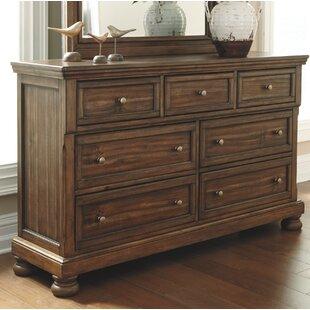 Charlton Home Rochon 7 Drawer Dresser