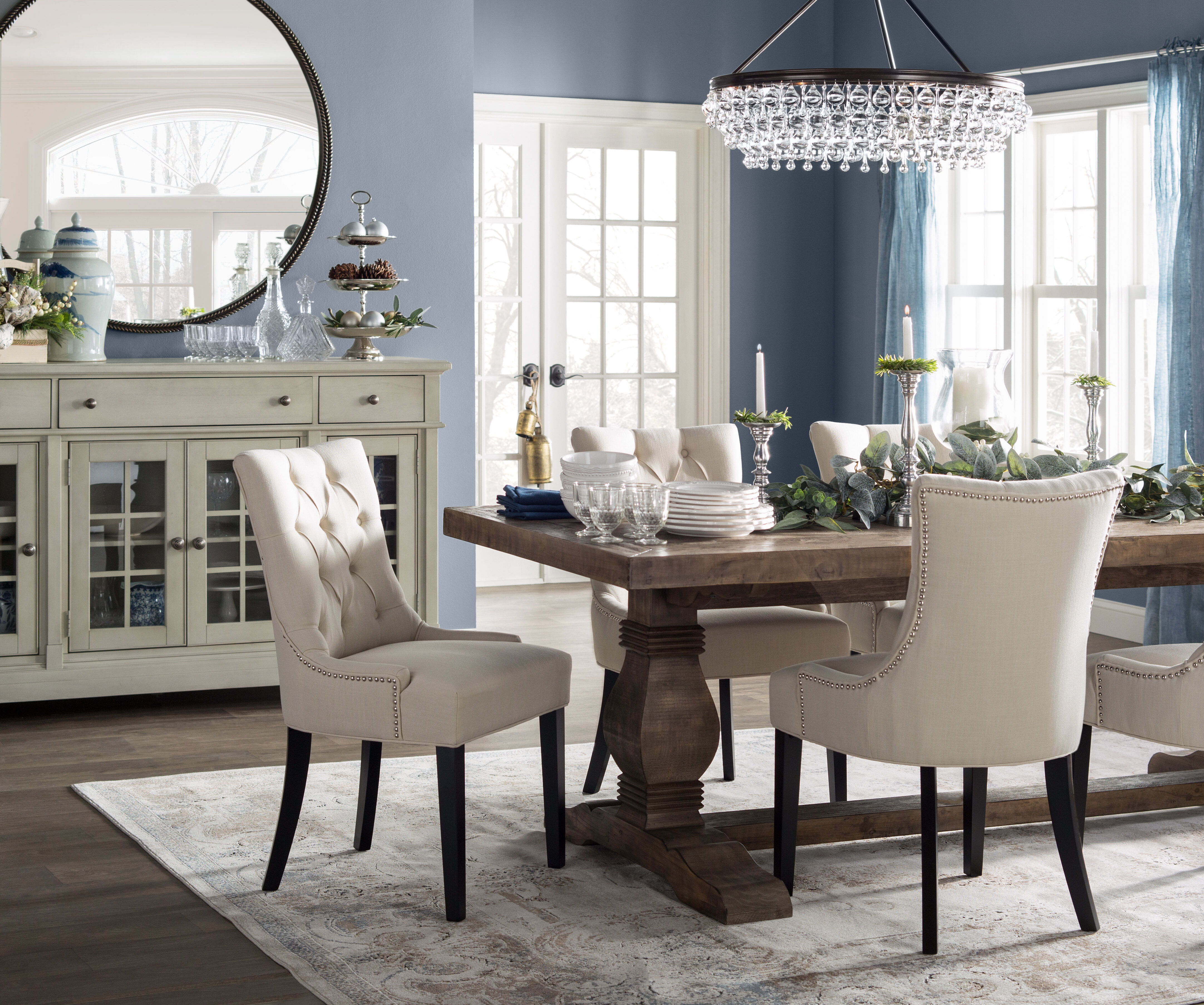 Picture of: Pemberton Upholstered Dining Chair Reviews Birch Lane