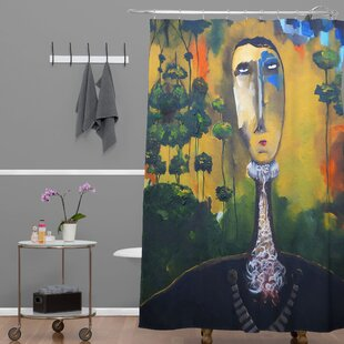 Robin Faye Gates Forest for Trees Single Shower Curtain