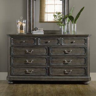 Hooker Furniture Vintage West 9 Drawer Dresser