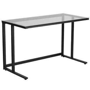 Clarkston Writing Desk with Pedestal Frame