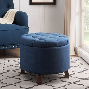 Marlow Tufted Storage Ottoman by Charlton Home