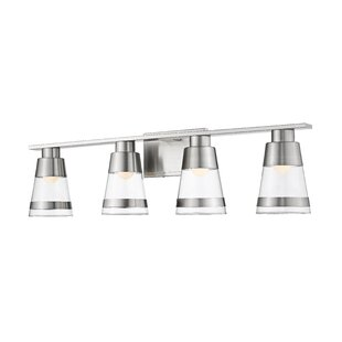 Breakwater Bay Jacey 4-Light LED Vanity Light
