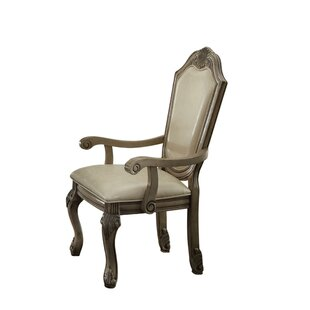 Zina Upholstered Dining Chair (Set of 2) Astoria Grand