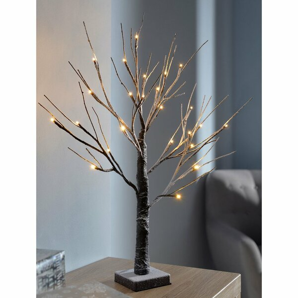 The Seasonal Aisle Pre Lit Led Twig Christmas Tree With