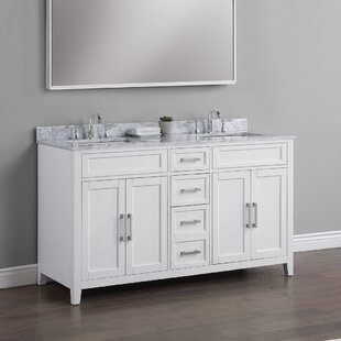 Horacia 60 Double Bathroom Vanity Set by Wrought Studio