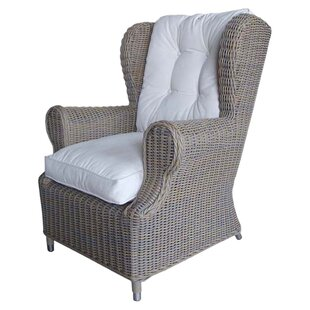 Padmas Plantation Outdoor Cottage Deep Seating Patio Chair with Cushion